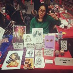 Jennifer Wu at All Star Comics